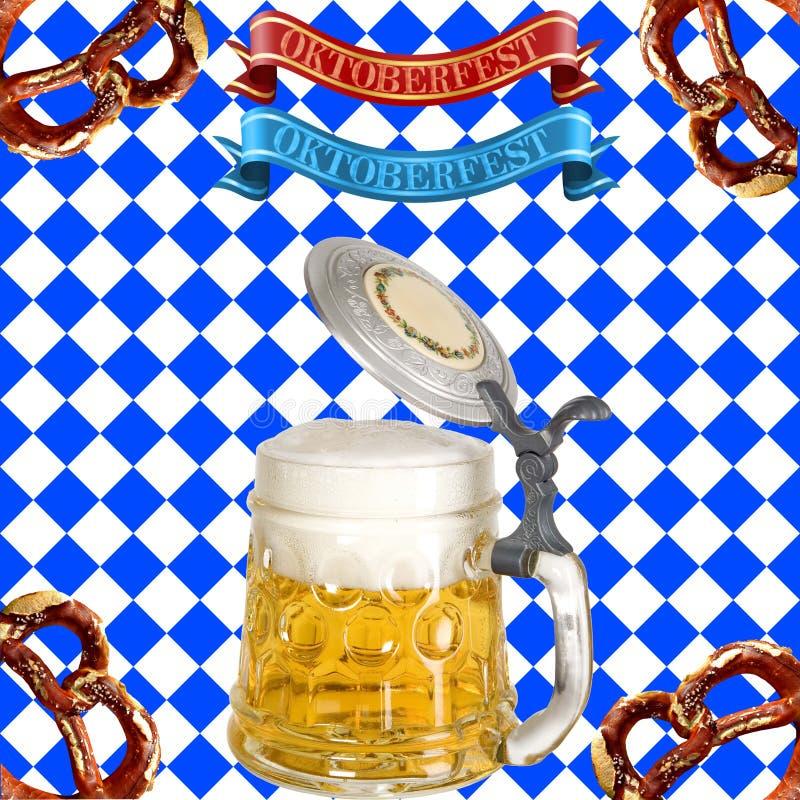 Celebrazione di Oktoberfest fotografia stock libera da diritti