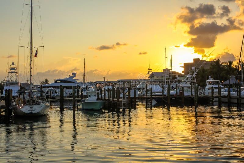 Celebrazione di tramonto di Key West immagini stock libere da diritti