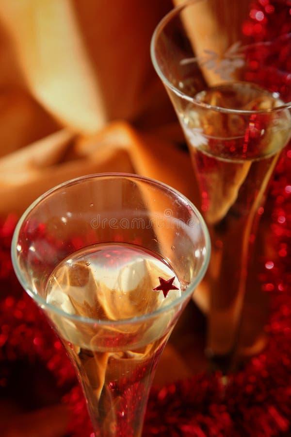 Celebrazione dorata fotografie stock