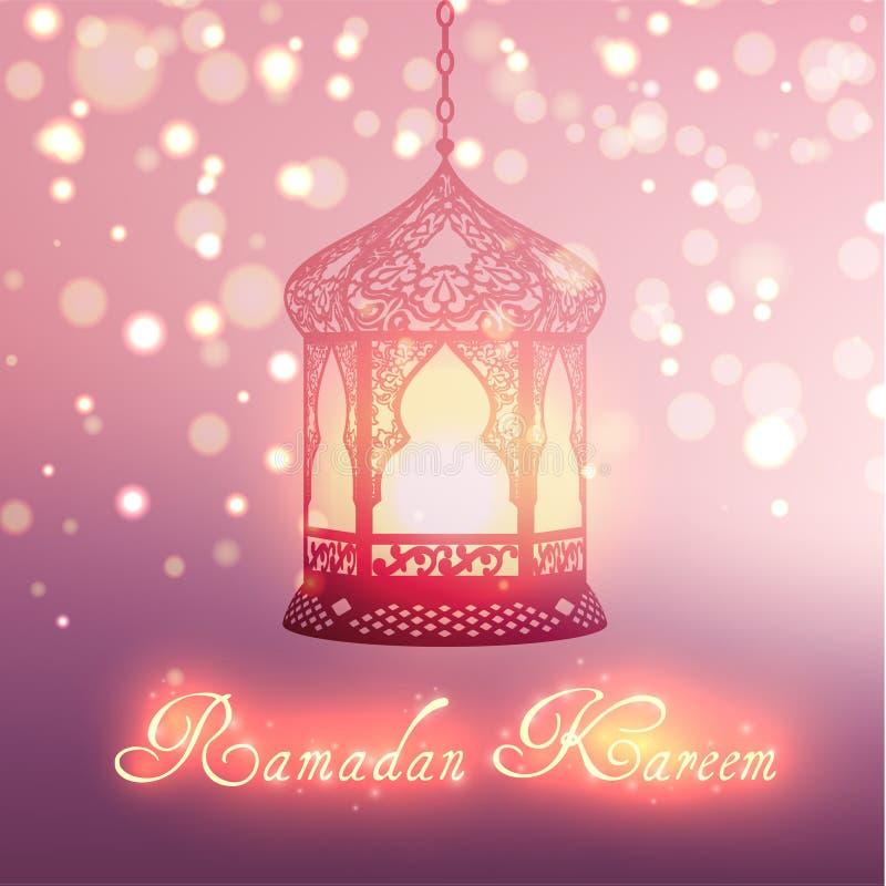 Celebrazione islamica di festa di Ramadan Kareem fotografie stock libere da diritti