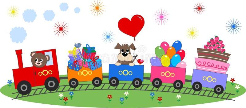Celebrazione o invito illustrazione di stock