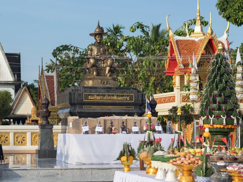 Celebrazione per re Taksin le grande immagine stock libera da diritti