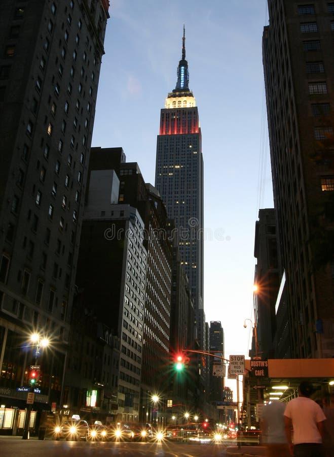 Celebrazioni di festa dell'indipendenza a New York fotografie stock libere da diritti