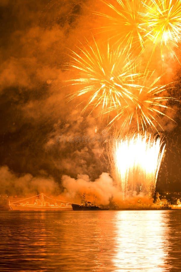 Celebrazioni di Victory Day fotografia stock