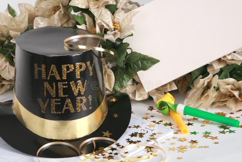 Celebre el Año Nuevo fotos de archivo