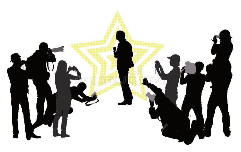 Celebrity vector illustration
