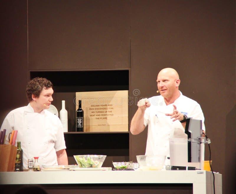 Celebrity Chef Matt Moran stock image