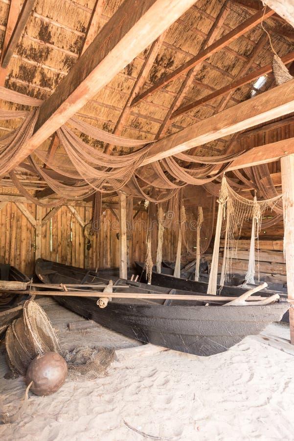 Celeiro da madeira de Fischer fotografia de stock royalty free
