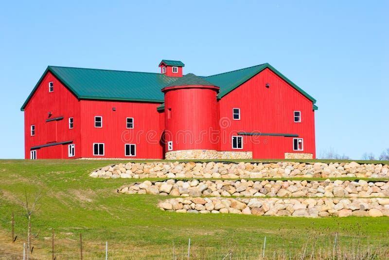 Celeiro de Amish fotos de stock