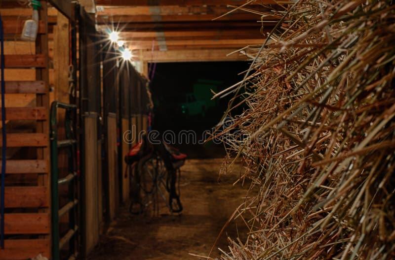 Celeiro de cavalo imagens de stock royalty free