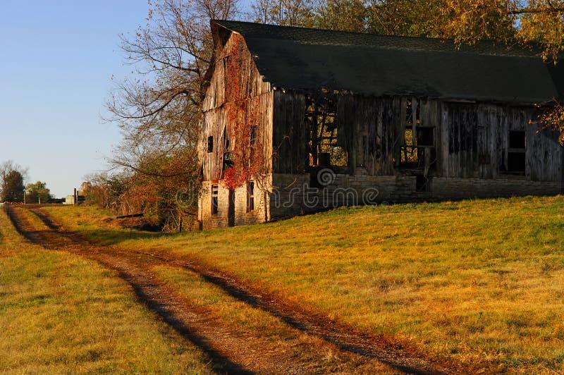 Celeiro de Kentucky foto de stock