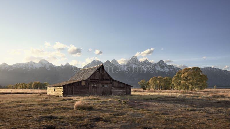 Celeiro de Teton fotografia de stock