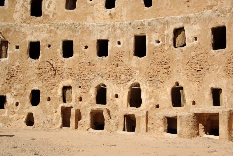 Celeiro do Berber, Líbia fotos de stock royalty free