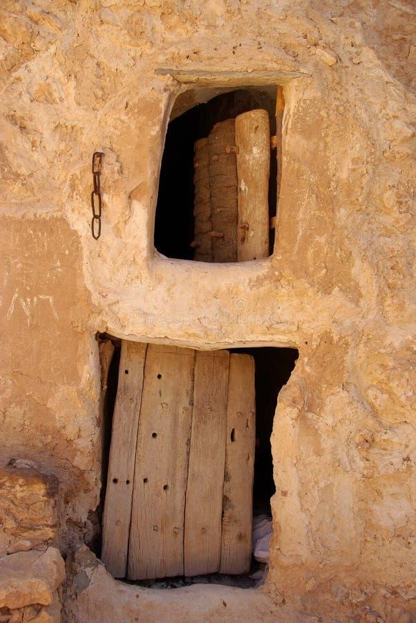Celeiro do Berber, Líbia imagem de stock royalty free