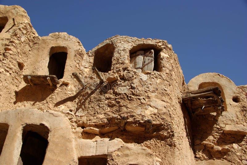 Celeiro do Berber, Líbia fotos de stock