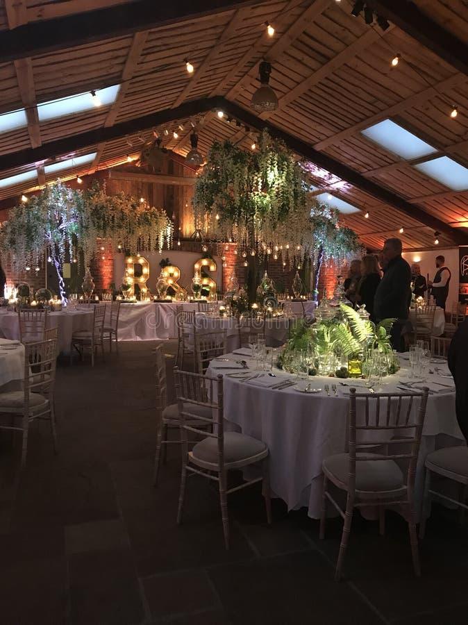 celeiro do casamento da casa de owen imagens de stock