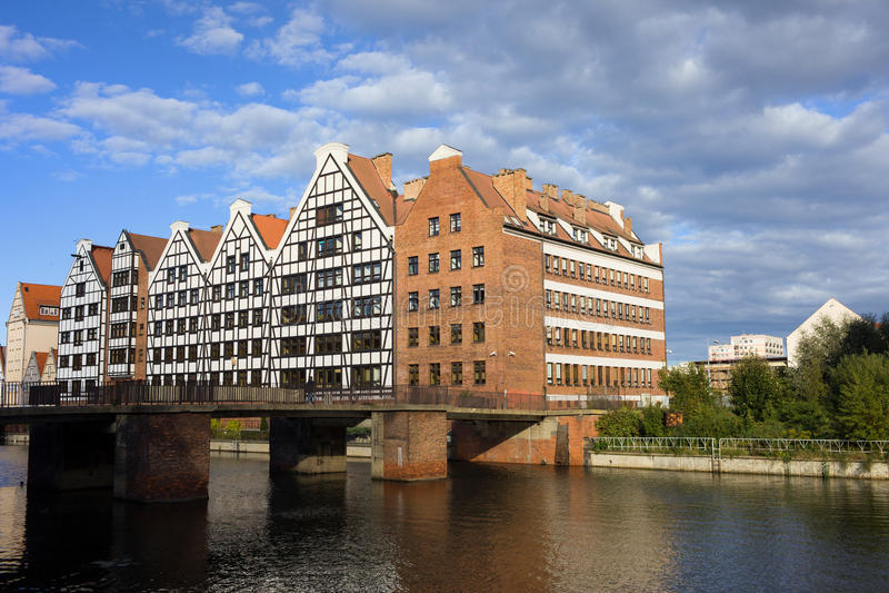 Celeiro em Gdansk fotografia de stock royalty free