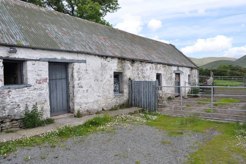 Celeiro no Dingle, Kerry do condado, Irlanda fotografia de stock