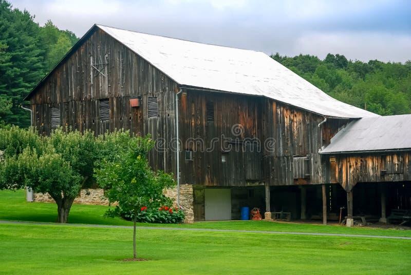 Celeiro velho Amish Pensilvânia da estrela fotos de stock royalty free