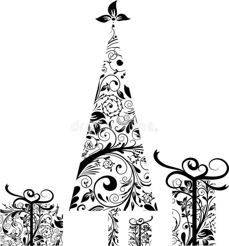 Celements de la Navidad para el diseño,   ilustración del vector