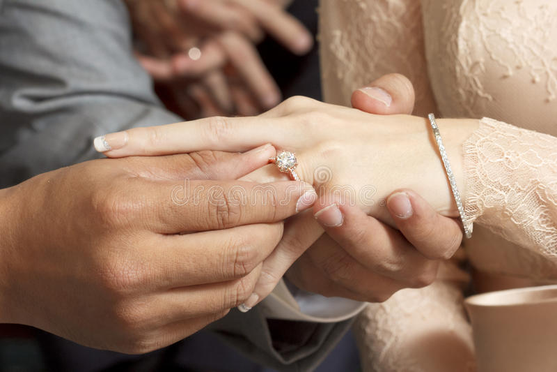 Celemoney венчания стоковое изображение rf