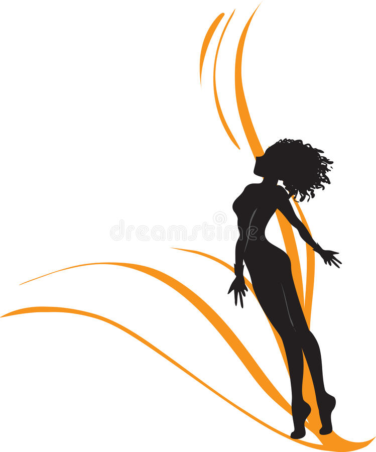 Download Celerity and freedom stock vector. Image of alluring - 33254819