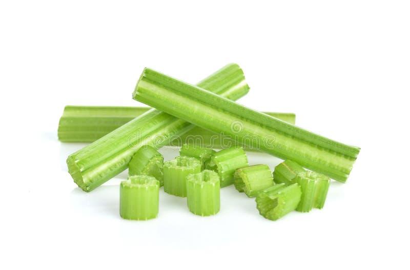 Celery isolated on white background royalty free stock photos