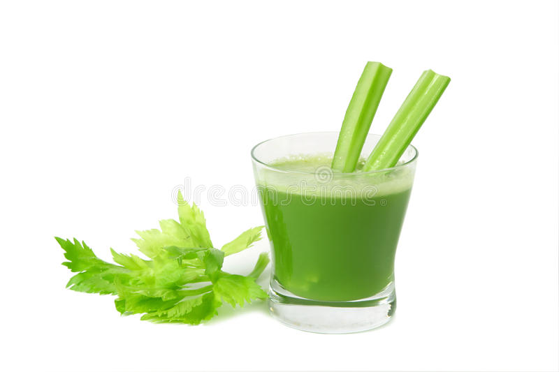 Celery juice royalty free stock photography