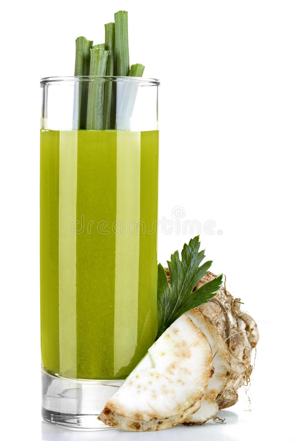 Celery juice royalty free stock images