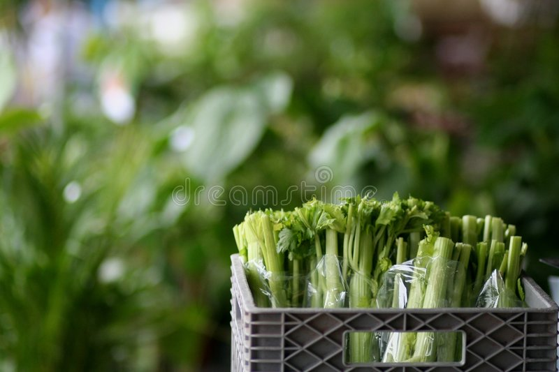 Celery at the market