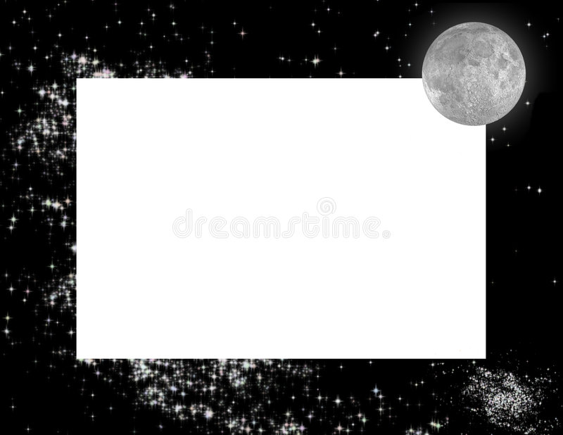 Download Celestial Frame stock image. Image of outer, black, harmony - 2309023