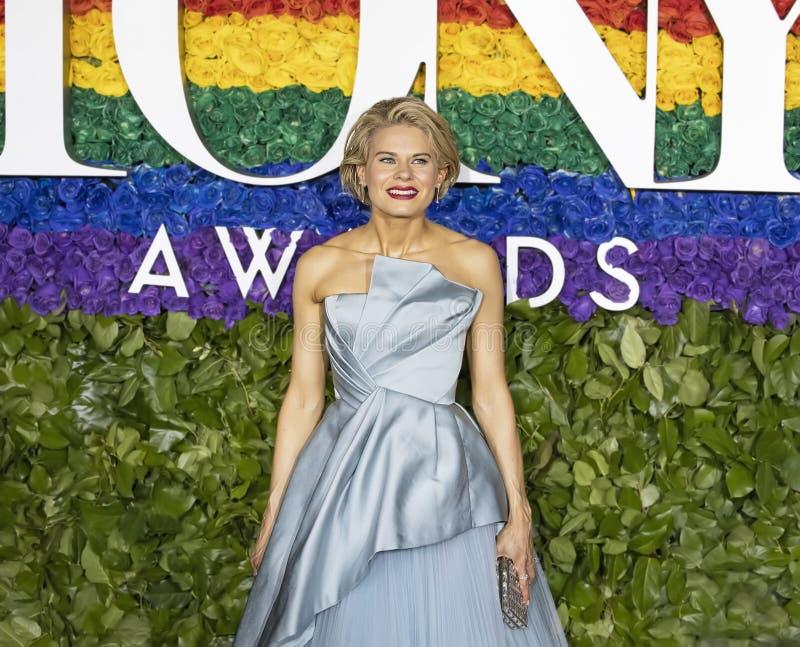 Celia Keenan-Bolger på Tony Awards 2019 arkivfoton