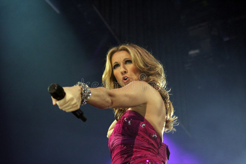 Celine Dion royalty free stock photos