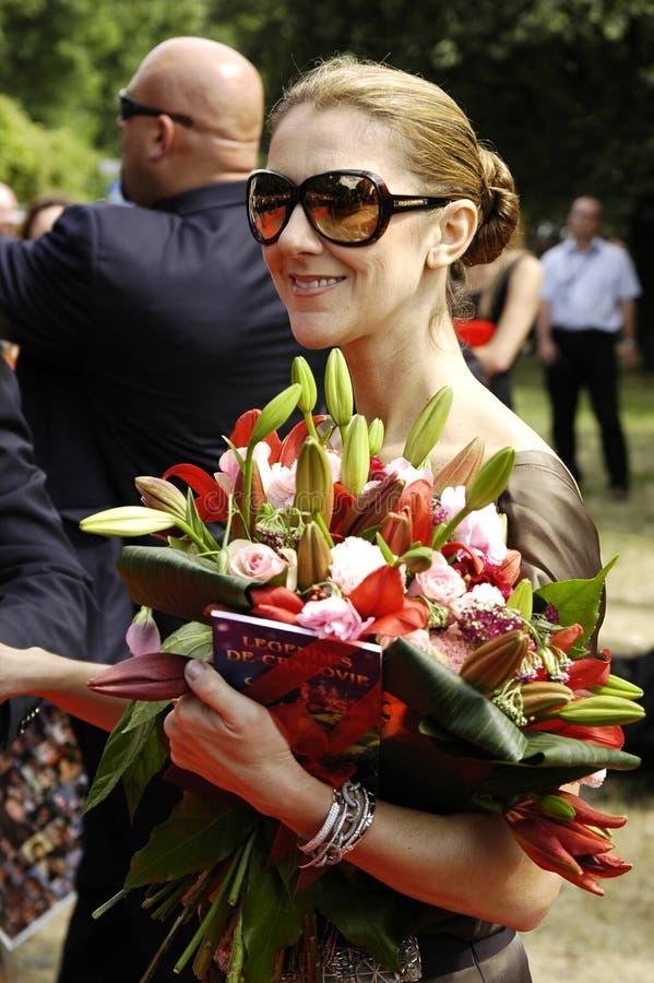 Celine Dion stock image