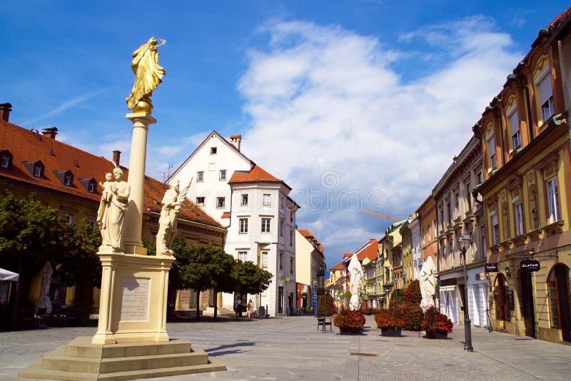 Celje, Eslovenia imagen de archivo libre de regalías
