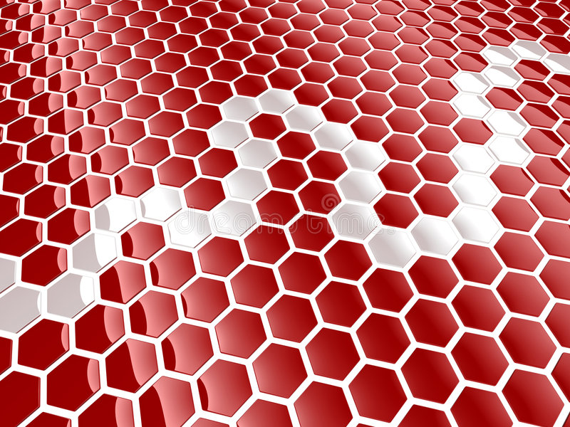 Download Cell hexagon background stock illustration. Image of concept - 8763611