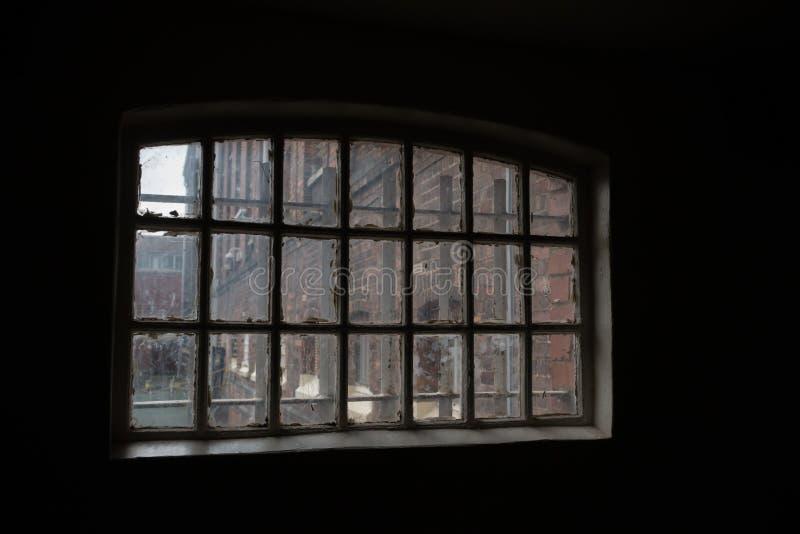 Cell i fängelse för HMP Shrewsbury Danaen royaltyfria foton