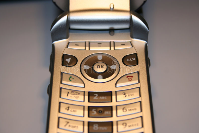 Cell Phone Close Up Royalty Free Stock Images