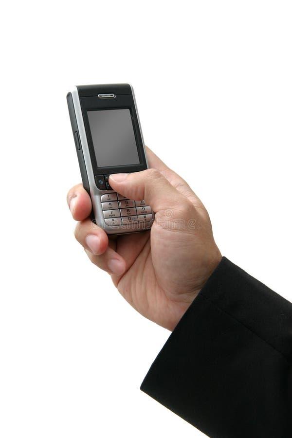 Cell-phone di affari fotografie stock