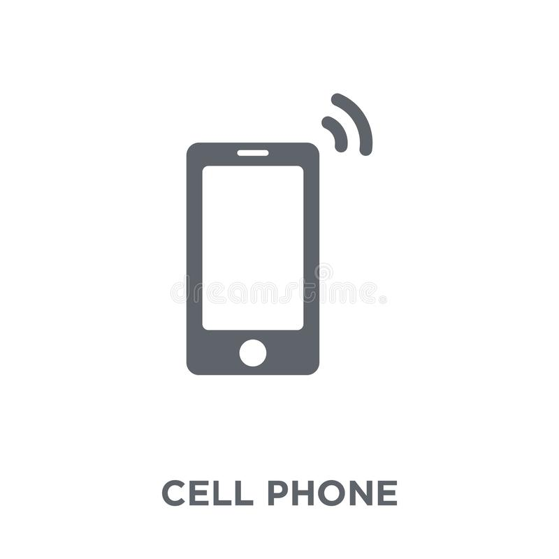 Free Cell Phone Icon From Electronic Devices Collection. Stock Image - 130329141