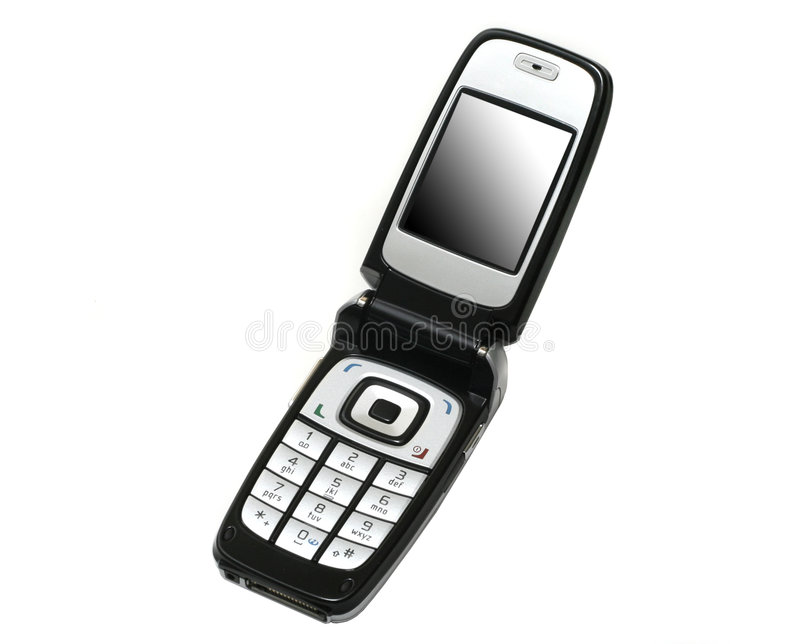 Cell phone II stock photos