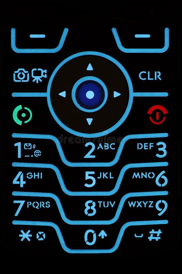 Cell Phone Keypad royalty free stock image