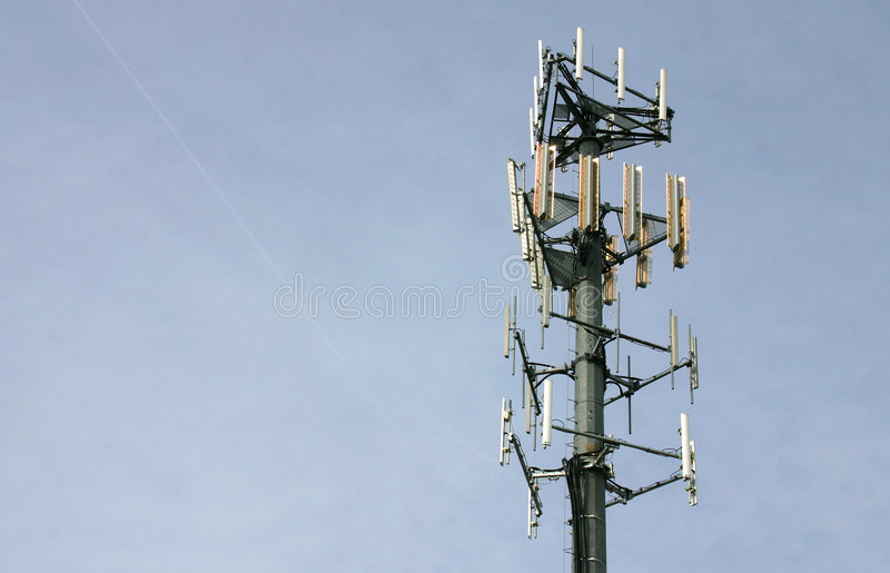 Cell Phone / Microwave Tower Stock Images