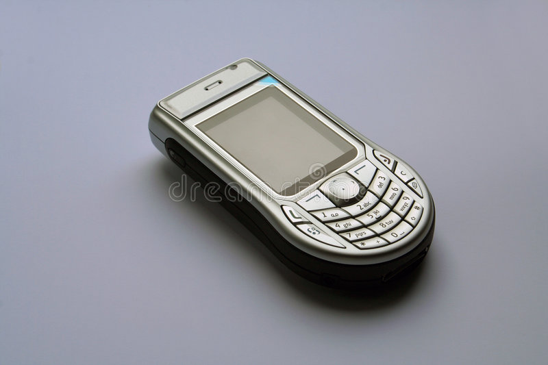 Cell phone nokia 6630 royalty free stock images