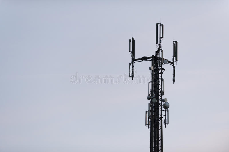 Cell phone tower for highspeed internet