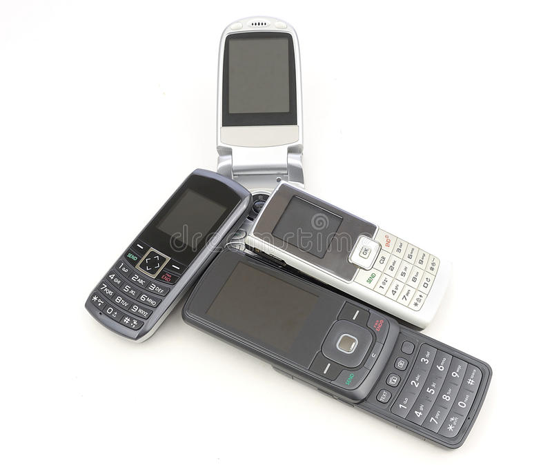 Download Cell phones stock photo. Image of telephone, electronics - 28579882