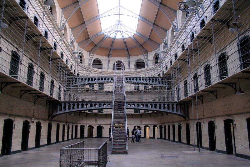 Cell rows at Kilmainham stock photo