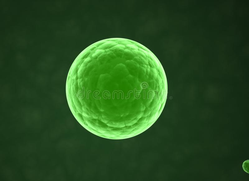 Cell - science background stock image