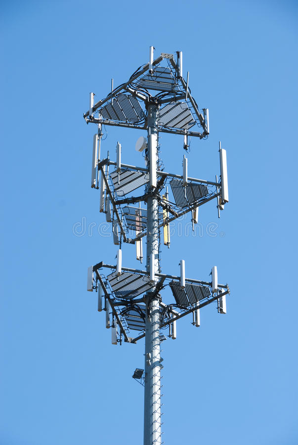 Cell tower#1 royalty free stock photo