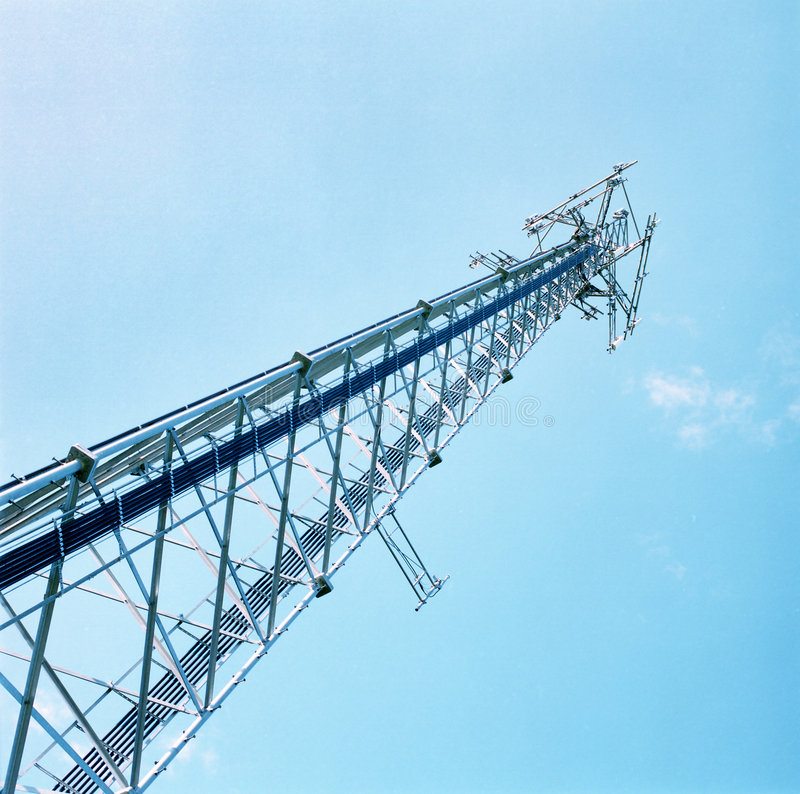 Download Cell Tower stock photo. Image of transmission, phone, communications - 186700